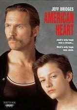 American Heart 0012236136156 With Jeff Bridges DVD Region 1