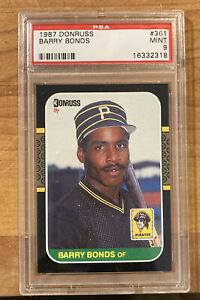1987 Donruss Barry Bonds Pittsburgh Pirates #361 Baseball Card