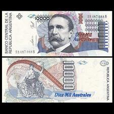 Argentina 10000 Australes, ND(1989-91), P-334a, UNC