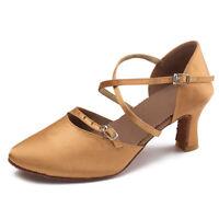 Women Girls Modern Ballroom Latin Dance Shoes Salsa Party Shoes For Dancing C10