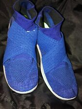 fac3be4ee4 Nike Free RN Motion Flyknit 2017 Mens 880845-003 Blue Running Shoes Size 14