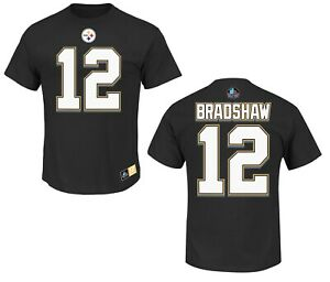 NFL T-Shirt Pittsburgh Steelersterry Bradshaw Hof ER3 Hall Fame Jersey
