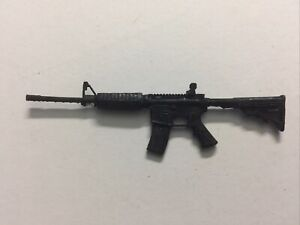 AR-15 Semi-Automatic Rifle 1:12 Scale Weapons for 6 Inch Action Figures