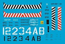 Peddinghaus 1/48 US Navy Carrier Deck Tractor Markings (Verlinden 2567) UVP2567