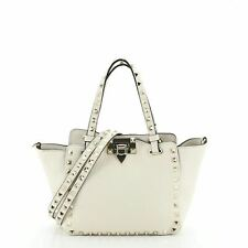 Valentino Rockstud Tote Pebbled Leather Mini