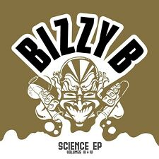 BIZZY B - Science EP: Volume III + IV - CD NEW Planet Mu ZIQ117CD Jungle DNB