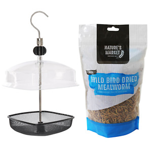 Wild bird mealworm meal worm feeder feed combination deals FREE P+P