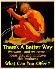 1920s Mather Business Motivational Poster 20x24 Favoring Others Favors You