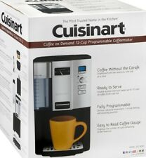 Cuisinart DCC-3000 Coffee on Demand 12-Cup Programmable Coffeemaker Black/Chrome