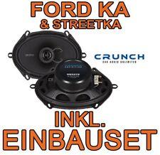 FORD KA & Streetka - Crunch ALTOPARLANTE ant. CASSE PORTA OVALE - Set di