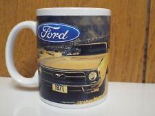 Coffee Mug 1971/71 Ford Mustang Fastback 250 302 351 4V 429 CJ Cobra Jet NOS Cup