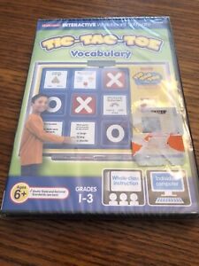 Lakeshore Tic-Tac-Toe Vocabulary New Sealed CD-ROM Interactive Whiteboard