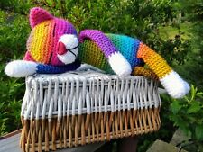Katze Amigurumi Häkeltier gehäkelt Deko Handarbeit