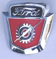 1953 1954 1955 1956 53 54 55 56  FORD TRUCK F100 F250 HOOD EMBLEM CREST NEW
