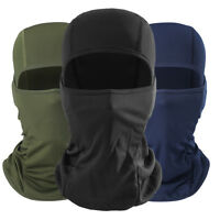 Outdoor Ski Motorcycle Cycling Balaclava Lycra Full Face Mask Neck Ultra Thin FG