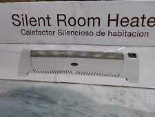 Lasko Low Profile 1500-Watt Electric Silent Room Space Heater & Digital Display