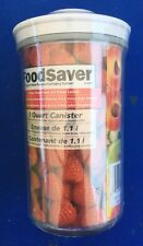 New Foodsaver Vacuum Packaging 1 Quart Canister Food Storage Container