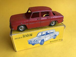 Dinky JUNIOR  French France Renault R8 With BOX