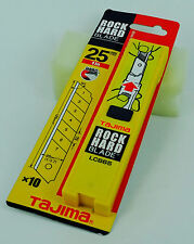 Tajima 25mm Rock Hard Blade x10 Extra Thick Wide Blades