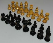 Vintage . Staunton . wooden . Chess set .