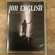 Jon English Live and RARE DVD PAL Region 0