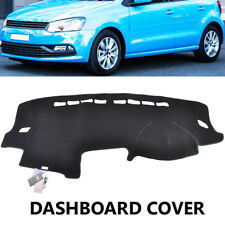 Fits Volkswagen VW Polo MK5 6C/6R/61 2009-2017 Dash Cover Mat / Black