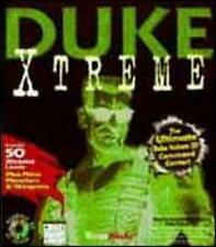 Duke Nukem 3D + Duke Xtreme PC CD alien invasion cocky shooter FPS game + add-on