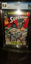 Superman #78 CGC 9.0 (2050269002) 6/93 1st print original owner poster included