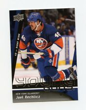09/10 UPPER DECK YOUNG GUNS ROOKIE RC #244 JOEL RECHLICZ ISLANDERS *32609