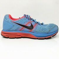 Nike Womens Air Zoom Pegasus 29 524981-406 Blue Running Shoes Lace Up Size 7.5