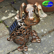 Metal Silhouette Dog Solar Light - Smart Garden Products
