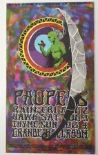 1968 Russ Gibb Presents  Paupers At The Grande Ballroom Postcard  8/2-4/1968