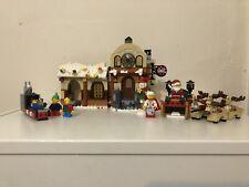 Lego 10245 Santa's Workshop Winter Village  Incomplete