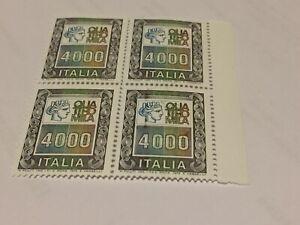N. 4 FRANCOBOLLI  DA  LIRE 4.000 - NUOVI -