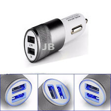 Universal Double (TWIN) 12V USB In Car Charger Adapter For All Mobile Phones