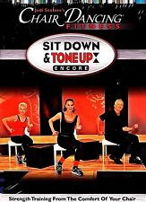 Jodi Stolove's Chair Dancing Fitness Dvd Sit Down Tone Up Sealed Free Ship Us