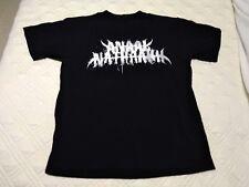 Anaal Nathrak - 2007 Design Original Logo Shirt 1st US Tour Shirt Ultra Rare 666