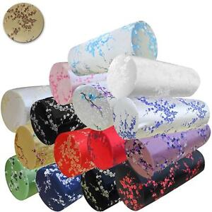 Bolster Cover*Chinese Rayon Brocade Neck Roll Long Tube Yoga Pillow Case*BL10