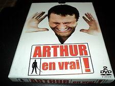"""COFFRET COLLECTOR 2 DVD-LIVRE """"ARTHUR EN VRAI - LE SPECTACLE 2007"""""""