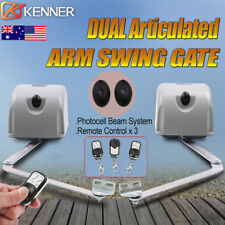 Kenner Double Articulated Arm Automatic Motor Swing Gate Opener Operator 1200kg