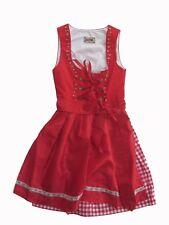 Stockerpoint Dirndl Judy2 rot 34 36 38 Tracht Kleid Wiesn kurz weiß Karo