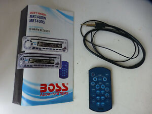 Boss Marine radio remote MR1400W or Mr1400S with manual
