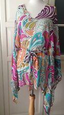 Matthew Williamson For H & M abito dress PAREO Tunica Seta S nuovo con etichetta