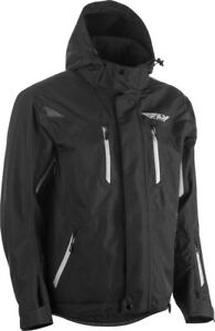 Fly Racing 2020 Snow Adult Incline Snowmobile Jacket Black All Sizes