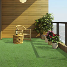 10x3.3ft Synthetic Turf Artificial Lawn Fake Grass Backed With Drainage Holes