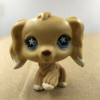 Littlest Pet LPS #748 Shop Yellow Cocker Spaniel Dog Puppy Doll Toy Gift For Kid