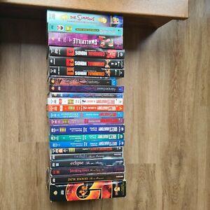Dvd Bluray Serien Sammlung criminal minds twilight vampire diaries scrubs