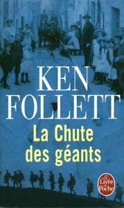 Livre Poche la chute des géants Ken Follett  2012 Robert Laffont book