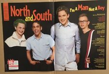 NORTH AND SOUTH Original Vintage Smash Hits Magazine Posters