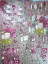 3D Die cut Papertole A4 Sheet Dufex Decoupage Wedding Foil 3 pictures NEW